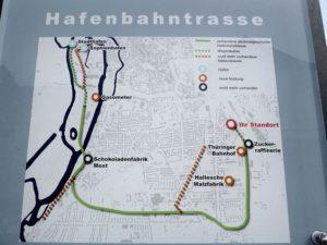 Fahrradtour – Hafenbahntrasse